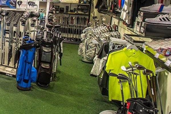 Abbey Hill golf shop