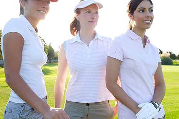 three-women-golfers