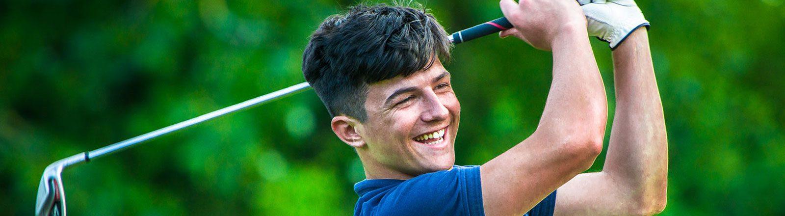 Golf swing header