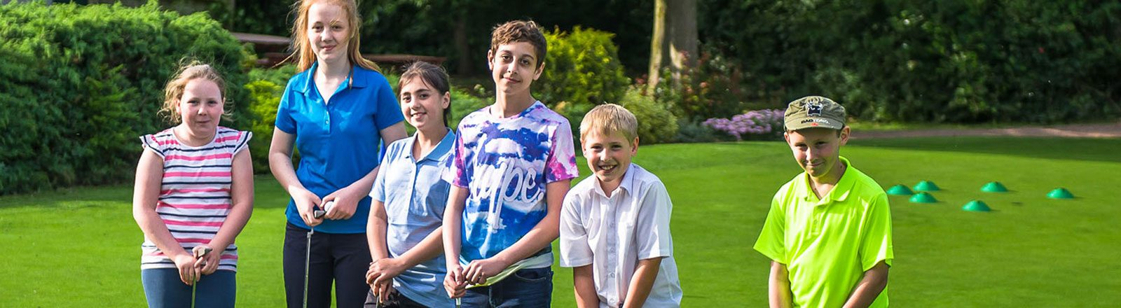 Junior Golf header